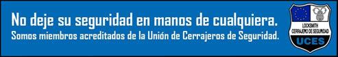Cerrajero Asturias Homologado UCES, deje su seguridad en buenas manos